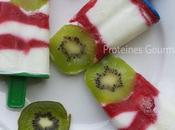 Yo-glaces: petites glaces saines yogurt