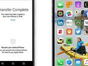 application pour passer d'Android votre nouvel iPhone