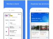 Google Maps itinéraires transports commun repensés optimisés