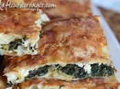Borek turque épinards fromage