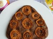 moelleux caroube coco pommes séchées avec konjac psyllium (diététique, hyperprotéiné, sans oeuf beurre, riche fibres)