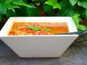 Bouillon tomates basilic