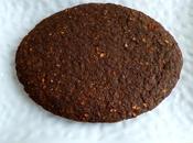 gâteau tofu-muesli sarrasin-chicorée-fèves cacao (hyperprotéiné, diététique, sans gluten, oeuf beurre, riche fibres)