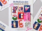 "Typographie tactile pour magazine ""Post"""