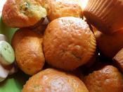 Mini-muffins citron confit, coriandre