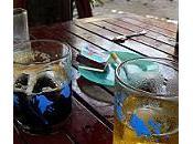 L'intimité autour d'une cigarette d'un verre