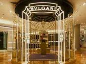 Bulgari s'expose Galerie Lafayette décharge reptiles haut gamme.