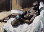 "Exposition annuelle peintre Robert Rore galerie Kunstbehandlung: ""Mes héros""."