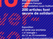 MILLON FONDATION LOUIS VUITTON: vente caritative profit Secours Populaire novembre 2015
