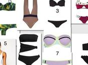 Shopping list: maillots bain