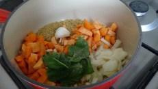 One-pot meal Couscous Thaï.