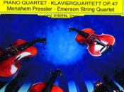 Morceau choisi N°63 l'andante cantabile quatuor pour piano cordes bémol majeur opus Robert Schumann