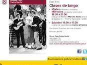 Museo Casa Carlos Gardel prépare 125ème anniversaire maître maison l'affiche]