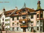 maison Goethe Mittenwald dans cartes postales anciennes