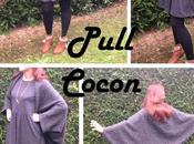 pull Cocon minutes chrono (tuto couture inside)