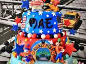 Gâteau décoré anniversaire