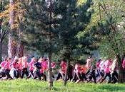 Odyssea Paris: 44000 coureurs pour bonne cause dans bois Vincennes! (dont moi...)