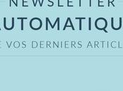 Newsletter automatique articles Blogger avec Mailchimp