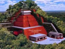 pyramide Maya Tonina bien plus grande qu'on pensait
