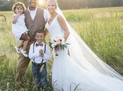 fils mort d'un cancer, jour mariage, cette maman fait sorte qu'il soit présent dans photos famille