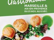 Festival gastronomie avec -50% tables meilleurs chefs région