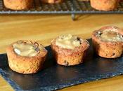Cookies noix, crème marron Rhum