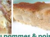 Gâteau pommes/poires