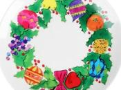 table L'assiette Andy Warhol Christmas Wreath