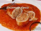 Encornets Farcis Dinde, Chorizo Tomates sechées Thermomix
