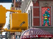 nouvelles œuvres Space Invader dans rues York