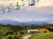 Drones robots technologie peut être employée