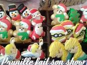macarons design Noël forme