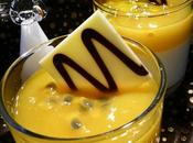 Panna Cotta Mangue-Passion... pour réveillon chic sans stess
