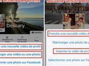 Profil Facebook comment créer vidéo profil collage photo