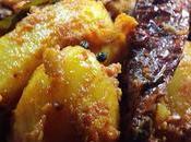Sauté pommes terre grenailles Kadhaiwala chota aloo Baby potatoes, South Indian Style
