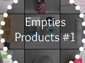 [Empties Products #1]: C'est
