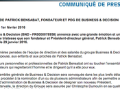 Pour Patrick Bensabat Business Decision
