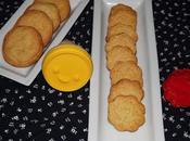 Biscuits sablés zestes citron