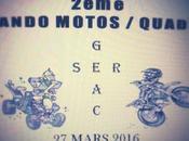 Rando motos quads Comité fêtes Sergeac (24), mars 2016