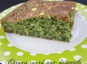 Gâteau sucré épinards