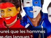 femmes meilleures hommes dans l'apprentissage langues