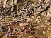 Polémique: transporté pierres bleues Stonehenge L'homme glaciers