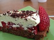 fraisier trois chocolats