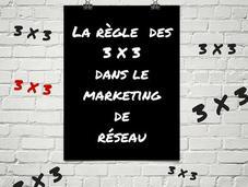 règle dans marketing réseau
