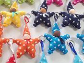 Nouveau patron couture porte-clef Lutin forme d'étoile