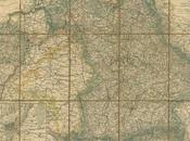 Carte Royaume Bavière l´époque Louis