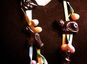 Chocolats Pâques collier bandeaux cheveux, bijoux croquer!