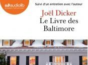 livre Baltimore Joël Dicker