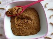 gâteau végan Yannoh avec céréales psyllium (diététique, sans beurre oeuf sucre riche fibres)