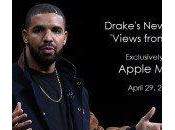 Drake l'album Views exclusivité Apple Music iTunes
